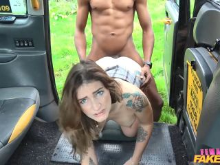 Adreena Winters Black Cock Stretches Drivers Holes