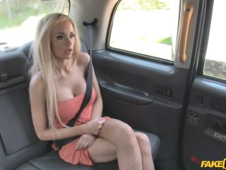 Barbie Bangs Hot Blonde Fucks New Cabbie