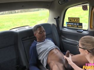 Georgie Lyall Back Seat Blowjob For Lucky Stud