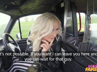 Jarushka Big Tits Blonde Fucks her Passenger