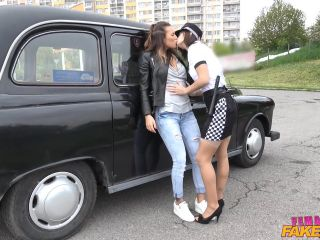 Jenifer Jane Lesbian Cop Catches Naughty Cabbie