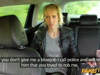 Johanna Joobiez Quick Blowjob Or Calling The Cops?