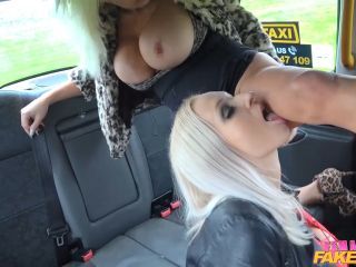 Michelle Thorne Insatiable Horny Blondes Taxi Fuck