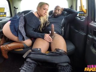 Sasha Steele Big Black Cock Deep In Drivers Ass